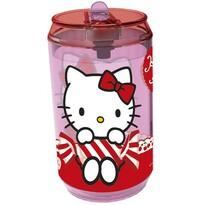 Banquet Butelka ze słomką Hello Kitty