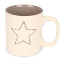 Keramický hrnček Hviezda, 600 ml