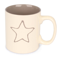 Keramický hrnek Hvězda, 600 ml