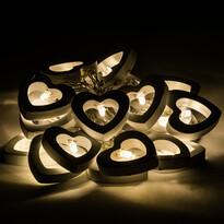 Lampki dekoracyjne Hearts, 20 LED