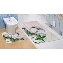 Koupelnová předložka Jadran 3D, 60 x 100 + 60 x 50 cm