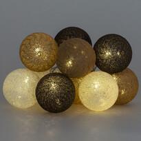 Světelný řetěz La Balle, hnědá