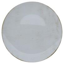 Dekoračný tanier svetlosivá, 40 cm