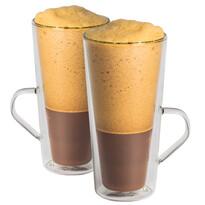 """Maxxo """"Cafe Frappe"""" 2-częściowy komplet szklanek  termicznych"""