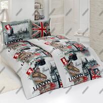 Matějovský bavlnené obliečky London city, 140 x 220 cm, 70 x 90 cm