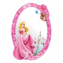 Samolepiace detské zrkadlo Princezná, 15 x 21,5 cm