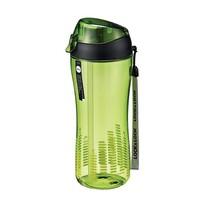 LOCK&LOCK sportovní lahev se silikonovým brčkem zelená