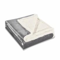 DecoKing Beránková deka Teddy sivá, 150 x 200 cm