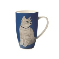 Maxwell & Williams Claws Coupe Mug hrnek, modrá