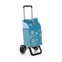 Nákupní taška na kolečkách Rolling Thermo azurová