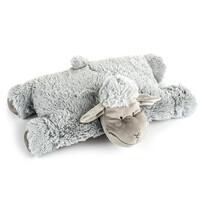 Vankúšik Ovečka suchý zips sivá, 52 x 38 cm