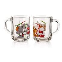 Sklenený hrnček Tom&Jerry 2 ks