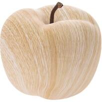 Dekorační porcelánové jablko, 12 cm