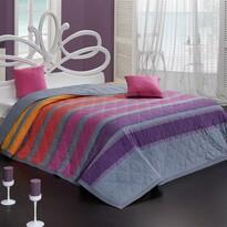 Cuvertură Elle, violet, 220 x 240 cm,  2x 40 x 40 cm
