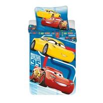 Detské bavlnené obliečky Cars blue 02, 140 x 200 cm, 70 x 90 cm