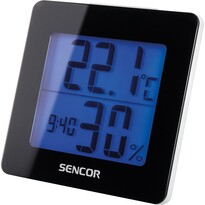 Sencor SWS 1500 B Termometr z zegarem