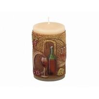 Dekorativní svíčka Sklípek, 10 cm