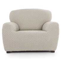 Multi elastyczny pokrowiec na fotel Contra kremowy