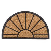 Venkovní rohožka Exotic 2 půlkruh, 40 x 60 cm
