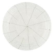 Prostírání z korálků Bead bílá, 35 cm