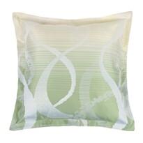 Vankúšik Zita obloúky zelená 50 x 50 cm