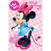 Detská deka Minnie OH My!, 100 x 150 cm