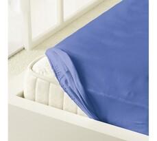 Kleine Wolke prostěradlo mako jersey modrá, 180 x 200 cm