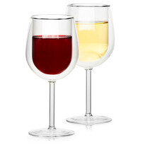 4home Pahare termo pentru vin Hot&Cool 300 ml, 2 buc.