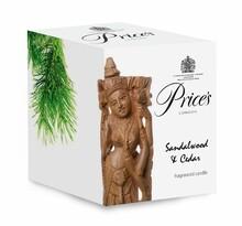 Price's świeczka zapachowa w szkle drzewo sandałowe i cedr