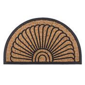 Venkovní rohožka Exotic půlkruh, 45 x 75 cm