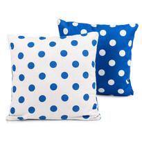 4Home Povlak na polštářek Modrý puntík, 2 ks 40 x 40