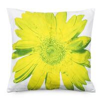 Obliečka na vankúšik zelený kvet, 45 x 45 cm