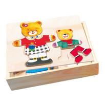 Bino Šatní skříň Medvědice + medvídek