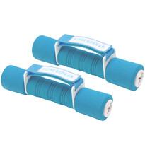Sada činek Dumbell modrá, 2 x 1,5 kg