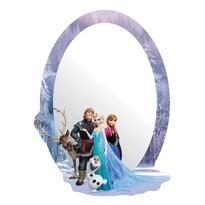 Samolepiace detské zrkadlo Ľadové kráľovstvo, 15 x 21,5 cm