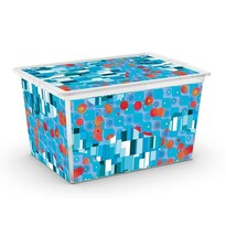 KIS Dekorační úložný box C-Box Style Artists XL, 50 l