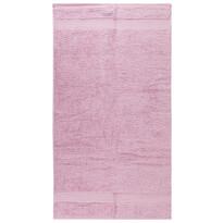 Ručník Olivia světle růžová, 50 x 70 cm