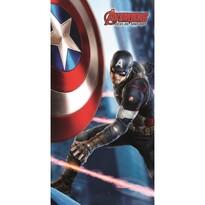 Ręcznik kąpielowy Avengers Captain America, 75 x 150 cm
