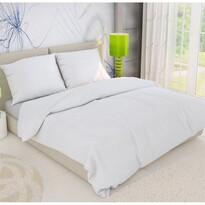 Krepp ágynemű, fehér, 140 x 200 cm, 70 x 90 cm