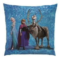 Pernă Regatul de gheaţă Frozen Team, 40 x 40 cm