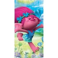 Ręcznik plażowy Trolls Poppy happy, 70 x 140 cm