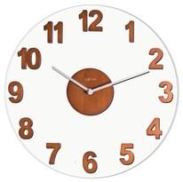 Nextime Woody Brown 2974 BR zegar ścienny