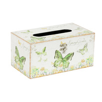 Farfalla zsebkendőtartó doboz, 25 cm