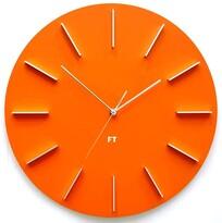 Future Time FT2010OR Round orange Designerski zegar ścienny, 40 cm