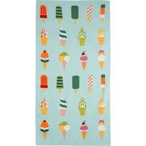Ręcznik plażowy Ice Cream, 70 x 140 cm