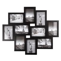 Fotorámeček Sultan na 10 fotografií, černá