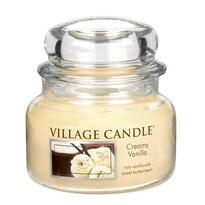 Village Candle Vonná svíčka Vanilková zmrzlina - Creamy Vanilla, 269 g