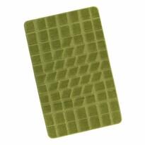 Dywanik łazienkowy Standard Mech zielony, 60 x 100 cm