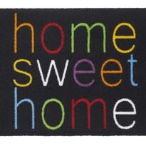 Vnútorná rohožka Home sweet home, farebná, viacfarebná