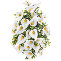 Umelá kvetina kaly biela